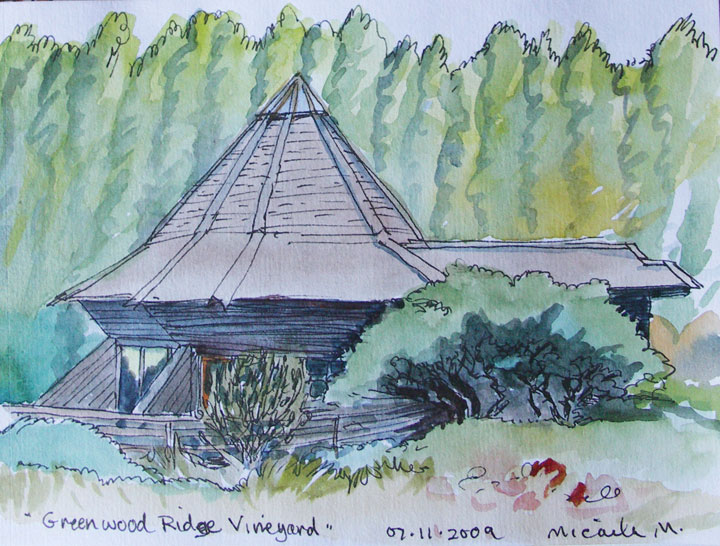 Greenwood Ridge Vineyard, Anderson Valley