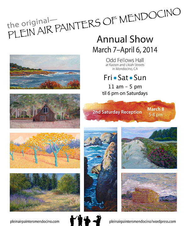 Plein Air Painters of Mendocino annual show