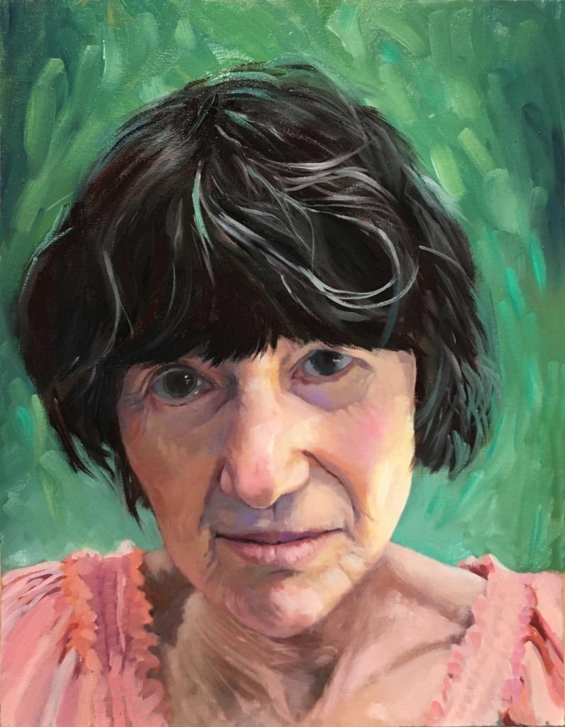 Micaela Marsden self-portrait