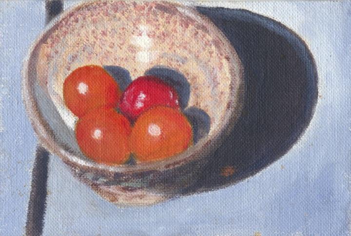 painting of handmade bowl 1