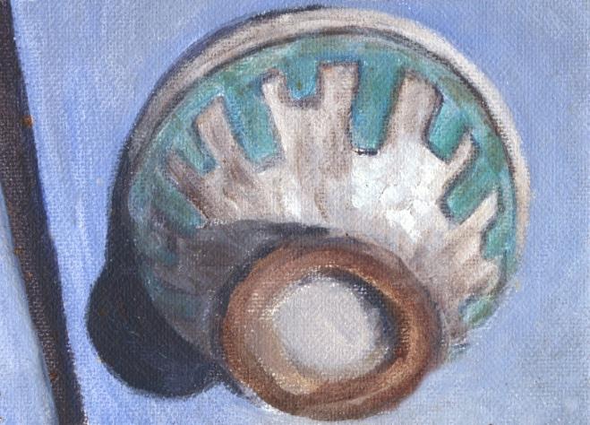 painting of handmade bowl 2