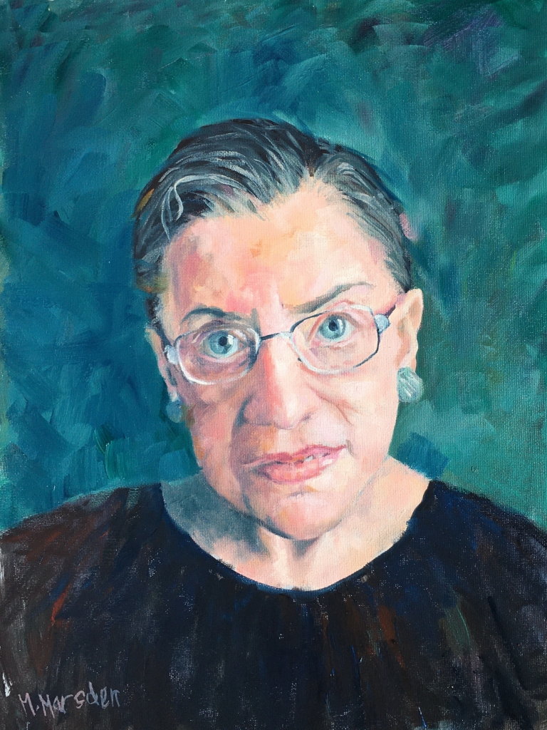 Ruth Bader Ginsburg, Supreme Court Justice of the USA